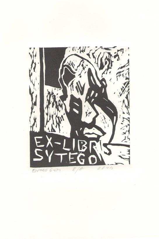 Ekslibris autorstwa Edwarda Syty w ramach wystawy