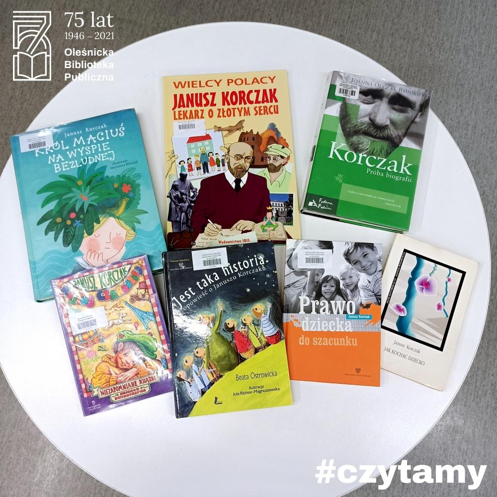 Okładki książek autorstwa Janusza Korczaka i okładki książek poświęcone Korczakowi