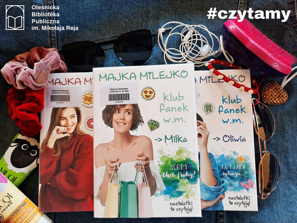 Trzy okładki książek pod tytułem
