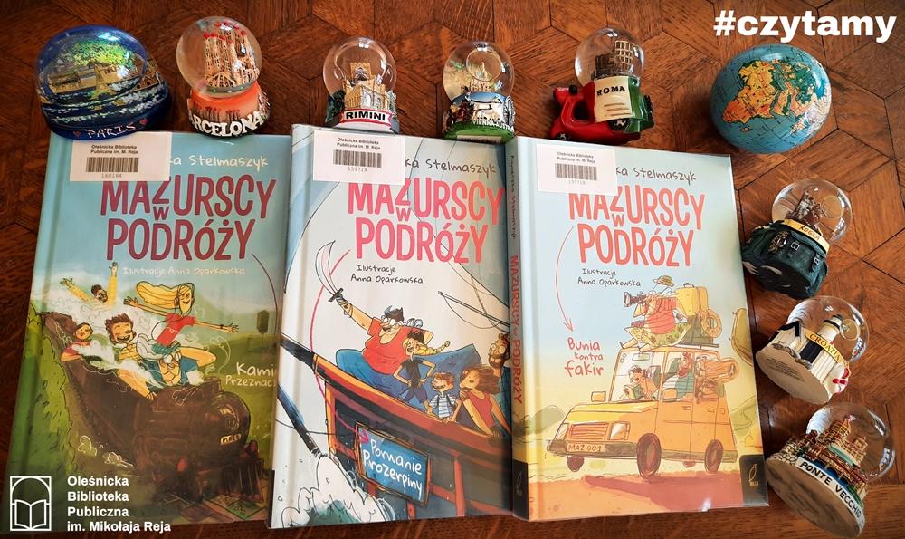 Okładki książek z serii