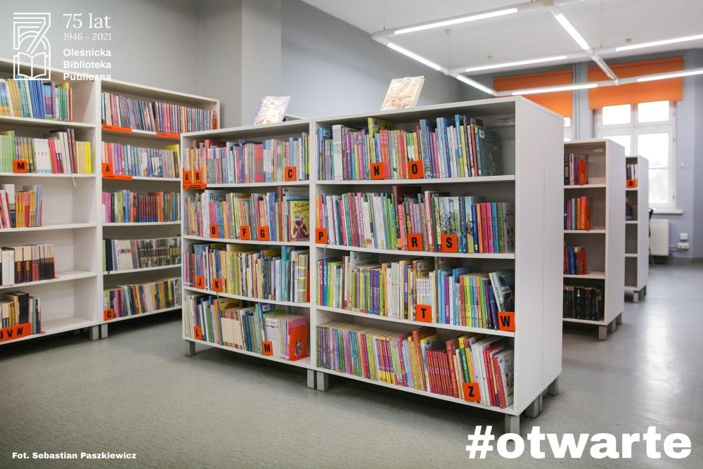 Wnętrza Biblioteki